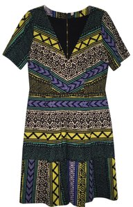 Plenty by Tracy Reese Fit And Flare Pattern Dress