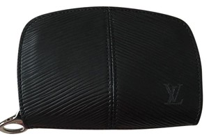 Louis Vuitton Louis Vuitton Epi Noir Black Z Zip Coin Purse Wallet