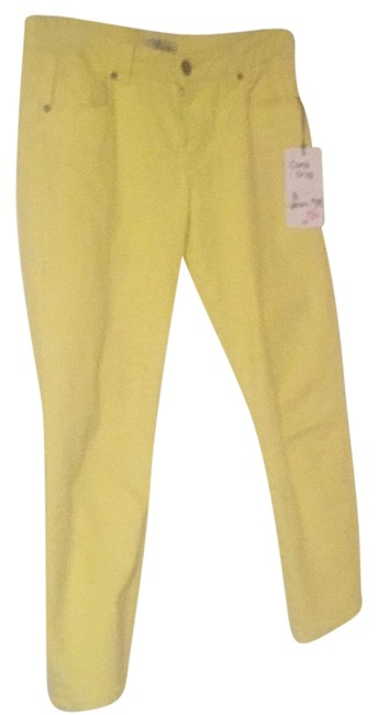 Item - Yellow Coast Crop Straight Leg Jeans Size 32 (8, M)