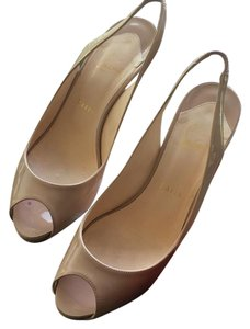 Christian Louboutin Tan Formal