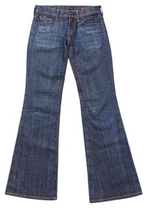 Citizens of Humanity Stretchy Size 24 Flare Leg Jeans-Medium Wash