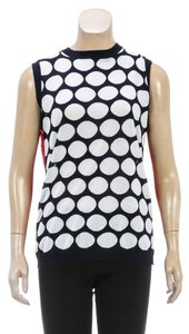 Marni Top Red/Blue/White