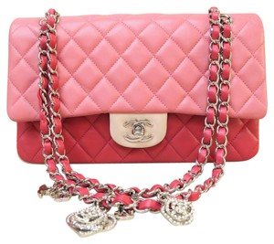 Chanel Cf Medium Pink Shoulder Bag