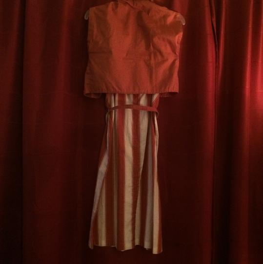 on sale Light Brown And White Dress #19369269 - Formal Dresses