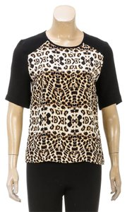 A.L.C. Top Black/Brown/Multicolor