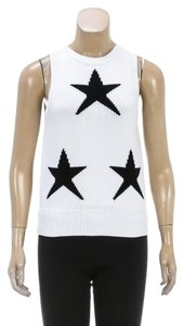 Max Mara Top White/Black