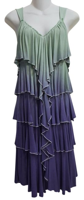 Item - Ombre Rn No= 20-61027 / Amys Knee Length Cocktail Dress Size 8 (M)