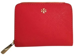 Tory Burch Robinson Zip Coin Case Key Ring