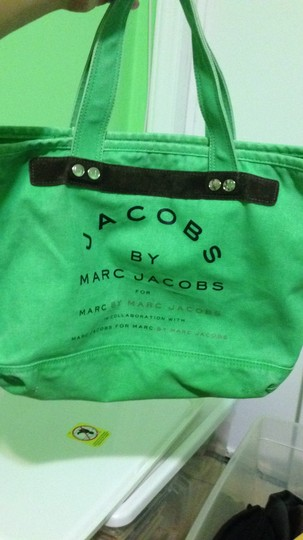 Marc by Marc Jacobs Green Travel Bag