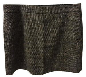 DKNY Skirt Brown and Cream Tweed