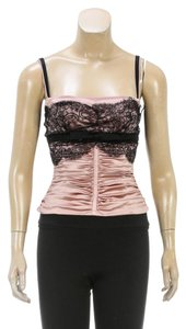 Dolce&Gabbana Top Pink/Black