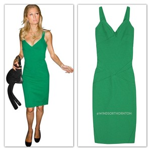 Diane von Furstenberg Sleeveless Sheath Sweetheart Dress