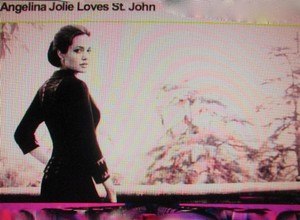 St. John St John Couture Jacket Skirt Suit Angelina Jolie Vogue Cover 8 M