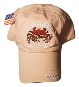 I'm Crabby Leave me Alone Baltimore Maryland Pink Hat