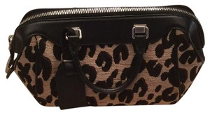 Louis Vuitton Satchel in Leopard Print