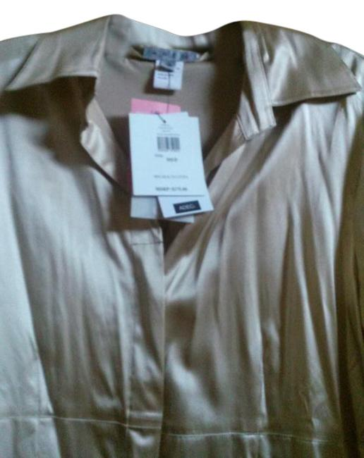 Item - Champagne Philippe Silk Blouse Size 10 (M)