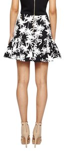 Nicole Miller Mini Skirt black and white