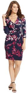 Lauren Ralph Lauren short dress Blue Floral on Tradesy