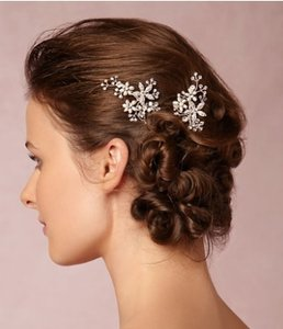 BHLDN Silver Pins Hair Accessory
