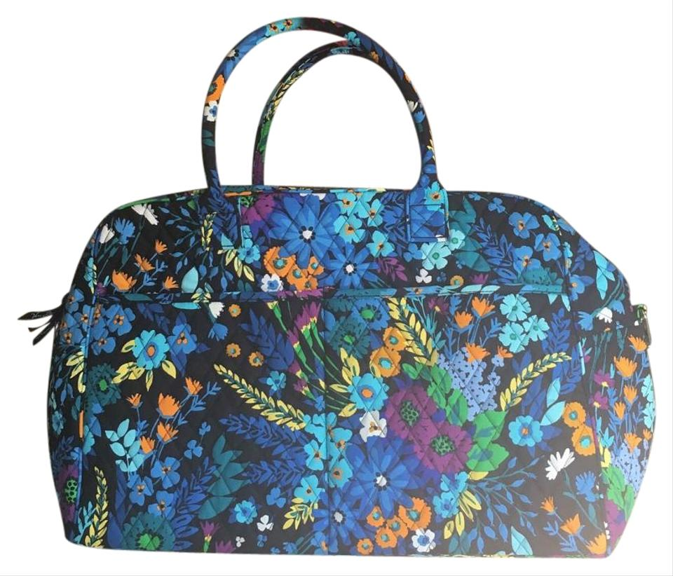 Vera Bradley Travel Bag Midnight Blues