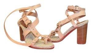 Mulberry Espadrille Strappy nude Sandals