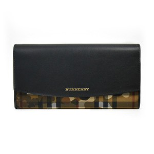 Burberry (Free Gift) New Burberry Porter Camouflage Continental Wallet