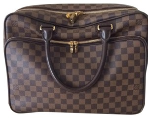 Louis Vuitton Satchel in Brown Checked