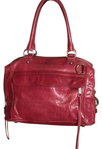 Rebecca Minkoff Satchel in Oxblood