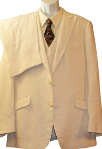 MEN'S Custom Linen 3pc SUIT
