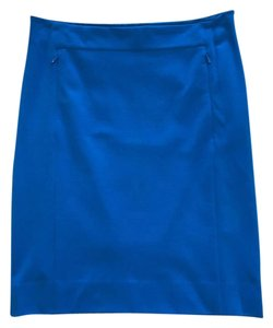 Diane von Furstenberg Pencil Dvf Skirt Blue