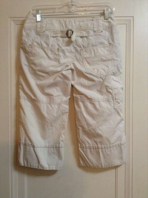 Free People Rn #66170 Urban Outfitters Anthropologie Capris Ivory