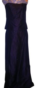 Ann Taylor Strapless Embroidered Beaded Dress