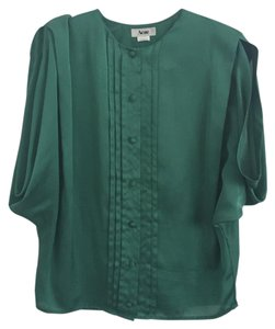 Acne Studios Top Kelly green