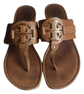 Tory Burch Tan/gold Sandals
