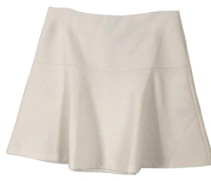 Banana Republic Mini Skirt Ivory