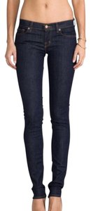 J Brand Pencil Pants Skinny Jeans-Dark Rinse