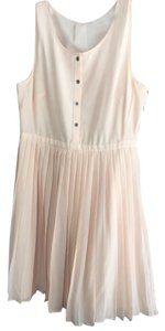 Madewell short dress Peach on Tradesy