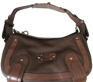 Chloé Chloe Leather Brown Classic Comfortable Hobo Bag