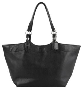 Coach Nwot Attached Dust Pet And Smoke Free Tote in Black
