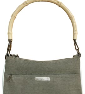 Gucci Tote in Light Brown And White