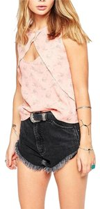 Free People Cutout New Large Top coral
