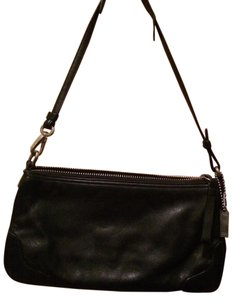 Coach Small Soft Leather Shoulder Bag