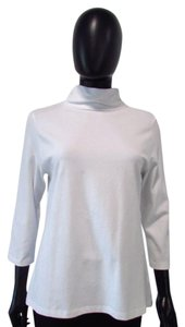 Other Eli Turtleneck Knit 3/4 Sleeve Top White