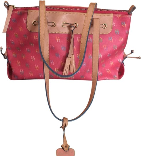 Preload https://item2.tradesy.com/images/dooney-and-bourke-it74-ra-pink-leather-tote-1937271-0-0.jpg?width=440&height=440