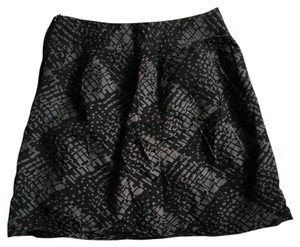 Kimchi Blue Mini Skirt Black and gray