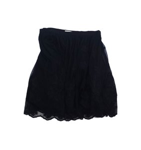 Badgley Mischka Black Tulle Skirt