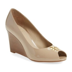 Tory Burch Burnt Almond Wedges