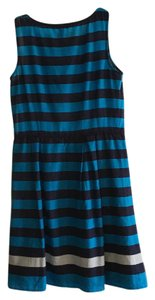 Tommy Hilfiger Stripes Summer Spring Hourglass Flattering Dress