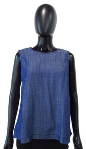 Michael Stars Crew Neck Top Blue