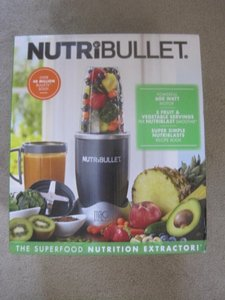 Magic Bullet NutriBullet 8-Piece Nutrition Blender/Extractor Set As Seen on TV
